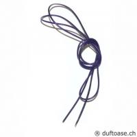 Lederband violett 1,5 mm, 1 m lang