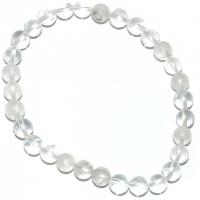 Bergkristall Kugel-Armband