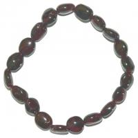 Granat - Armband 18 cm