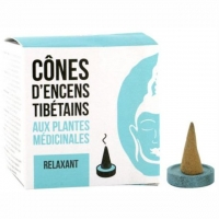 Entspannend - Relaxant - Relaxing - Tibetische Räucherkegel