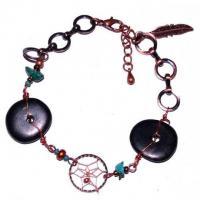 Indianerschmuck Armband Vintage mit Mi..