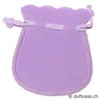 Velour-Beutel lila