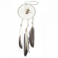 Traumfänger natur mit Libelle B 10 cm ..