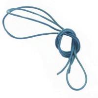 Lederband himmelblau 1,5 mm, 0,8 m lang