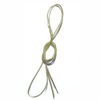 Lederband vintage-olive 1,5 mm, 0,8 m ..