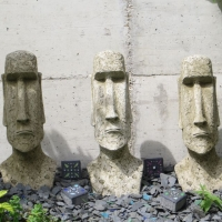 Moai Gartenfiguren-Set Fiona Jane Scott