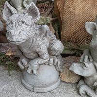 Drache Snap Gartenfigur Fiona Jane Scott