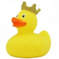 Bade-Ente gelb mit Krönchen