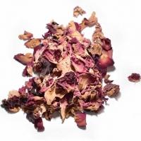 Rosenblüte - Rose rot 30g Rosa Centifo..
