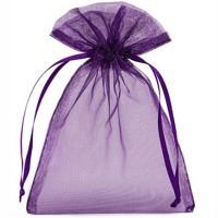 Organzabeutel violett S