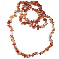 Carneol Splitterkette - Halskette